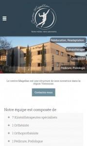 Centre Magellan sur smartphone
