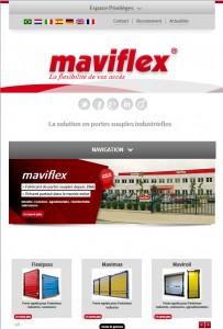Portes souples industrielles Maviflex