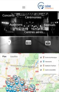 Evénements organisés par les harmonies, batteries fanfares, écoles de musique de la CMF 38