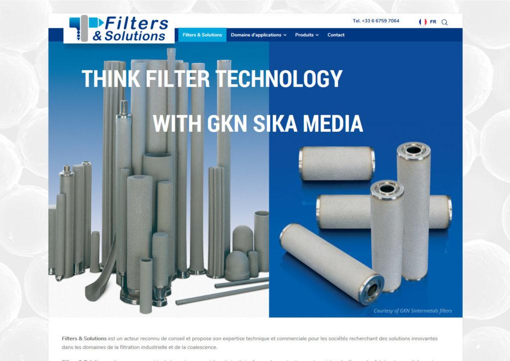 filters et solutions filtre inox et bronze poreux, dévésiculeurs